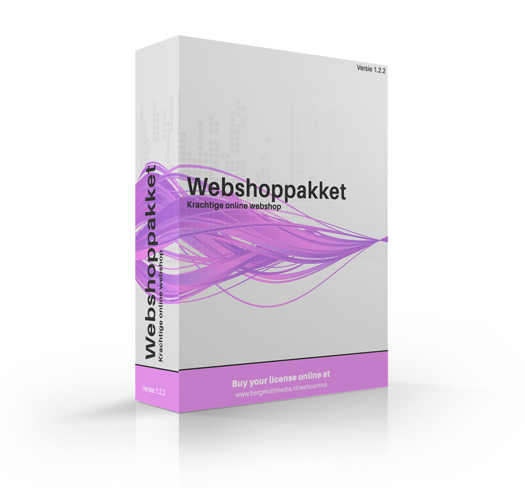 Software pack (Webshop)